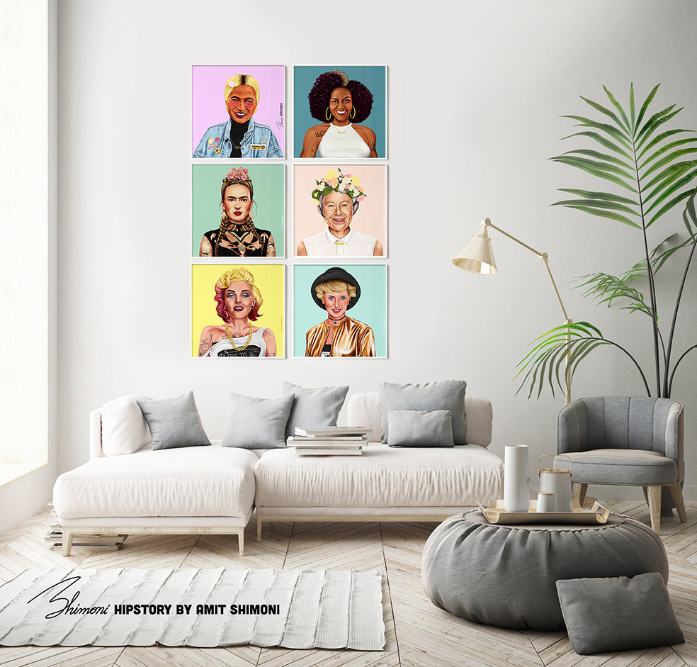 Michelle Obama Wall Print Decor