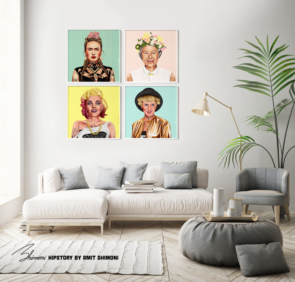 Marilyn Monroe Wall Print Decor