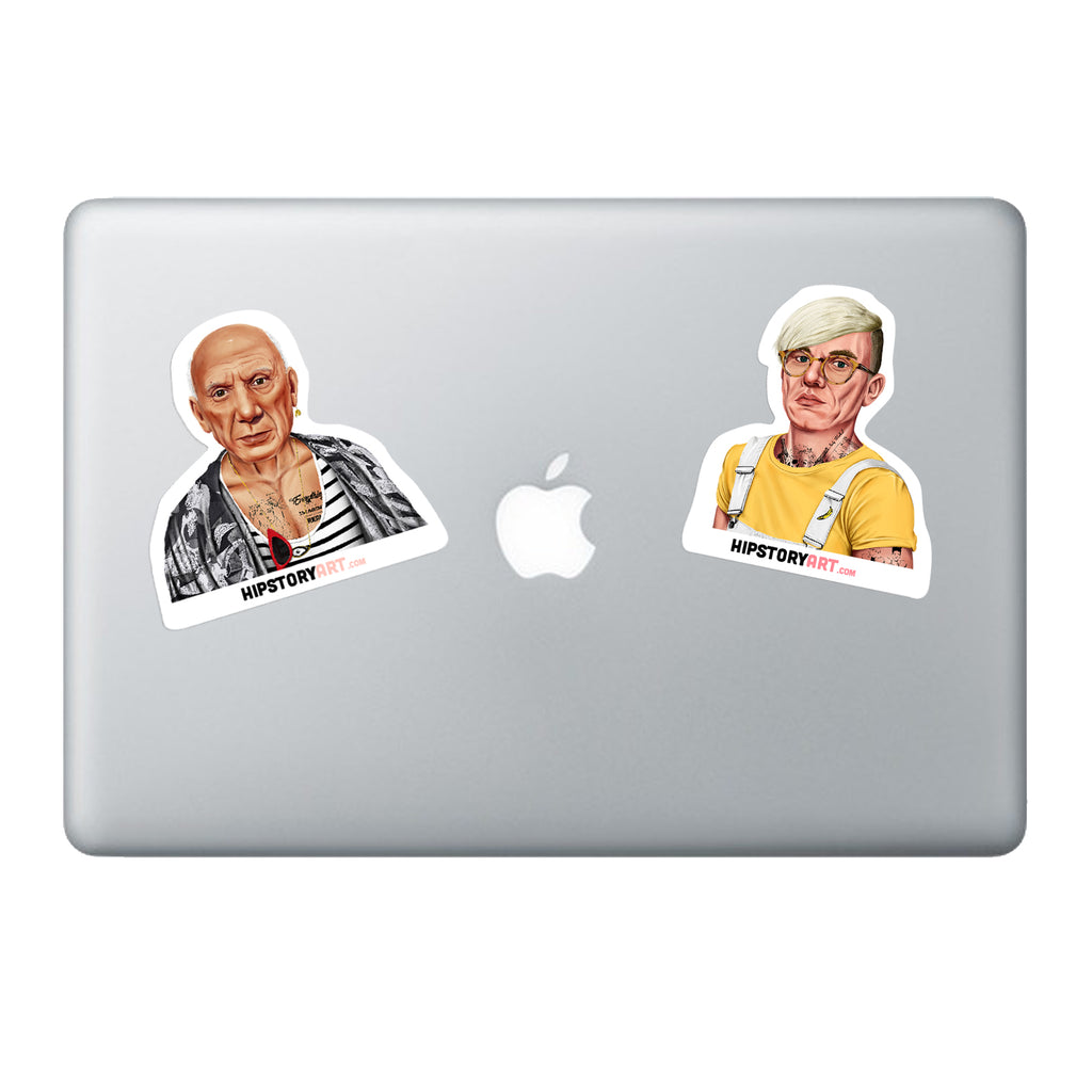 Vinyl laptop sticker Pablo Picasso