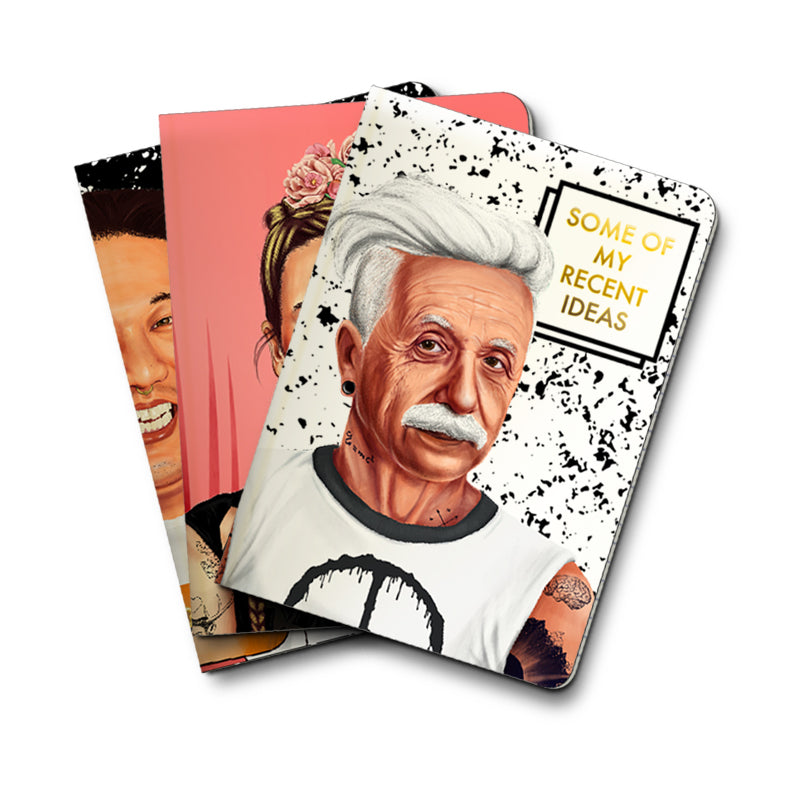 Choose Your Pack of HIPSTORY Notebooks