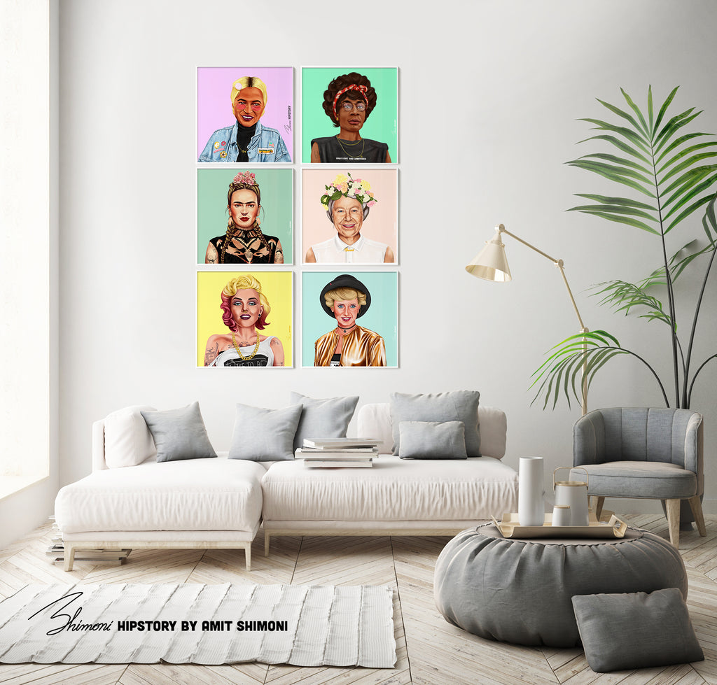 Shirley Chisholm Wall Print