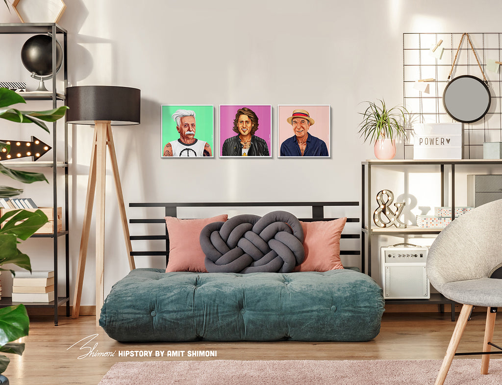 Justin Trudeau Wall Print Decor