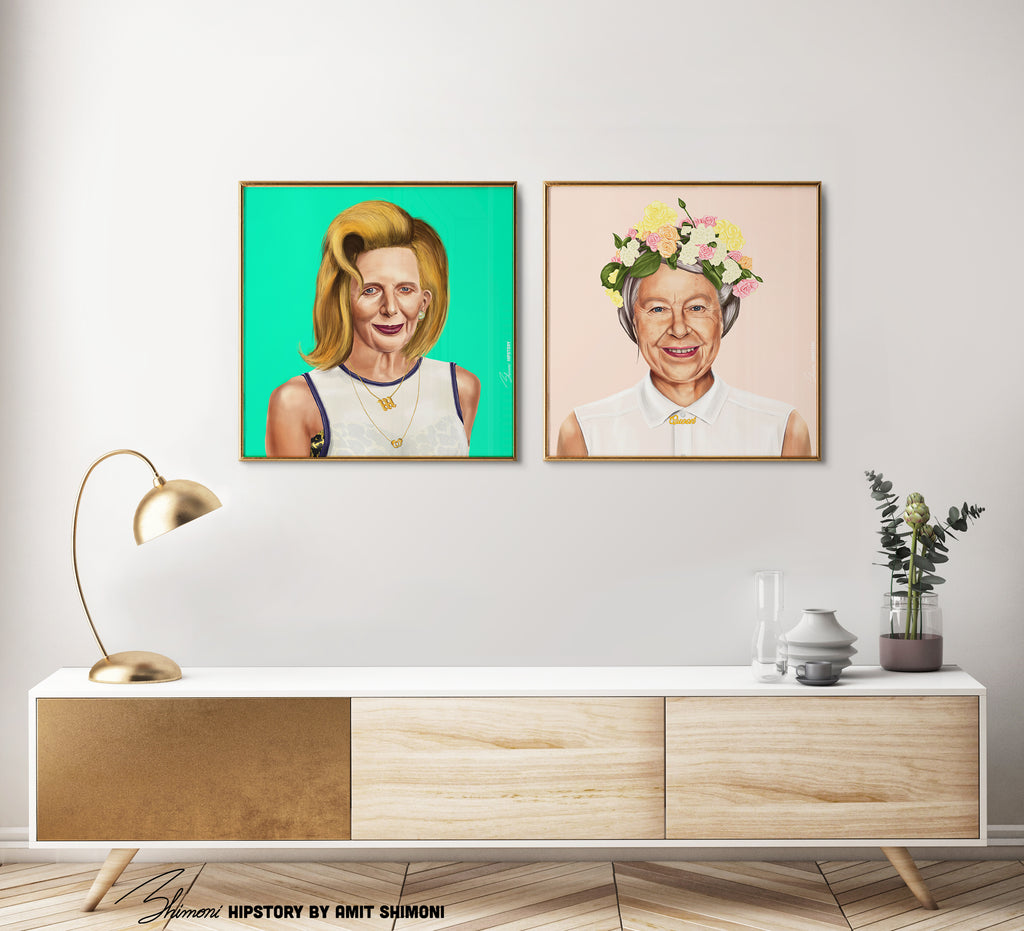 Margaret Thatcher Wall Print Decor