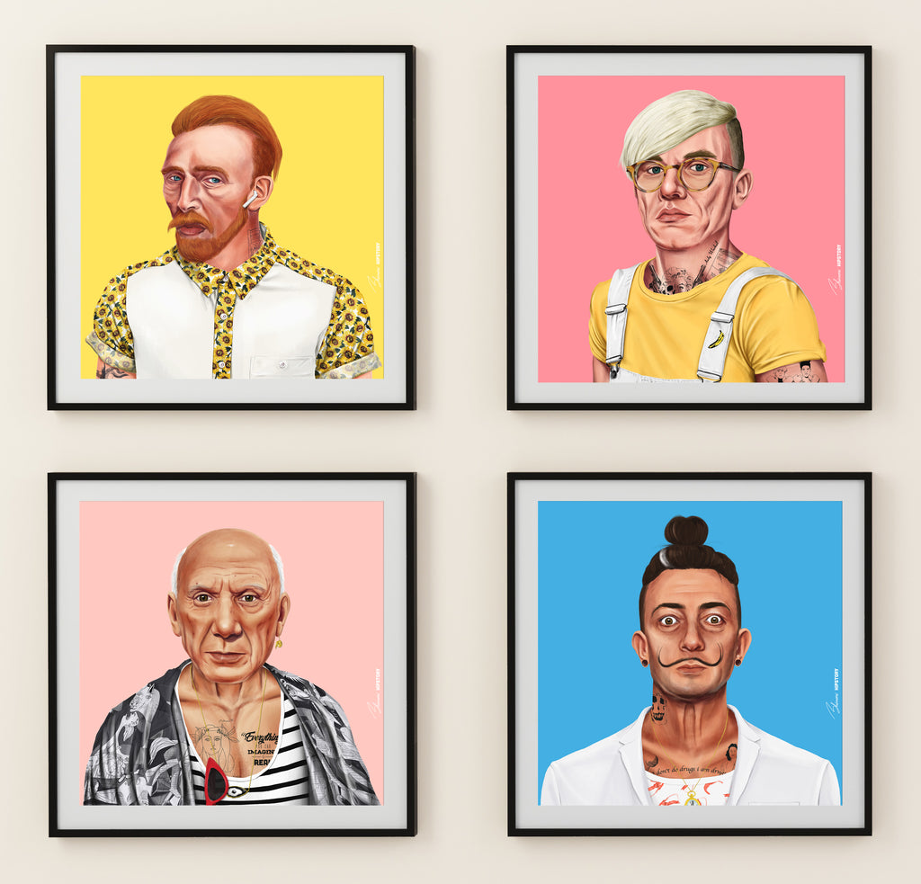 Choose Your 4 hipstory Prints -  FREE Shipping