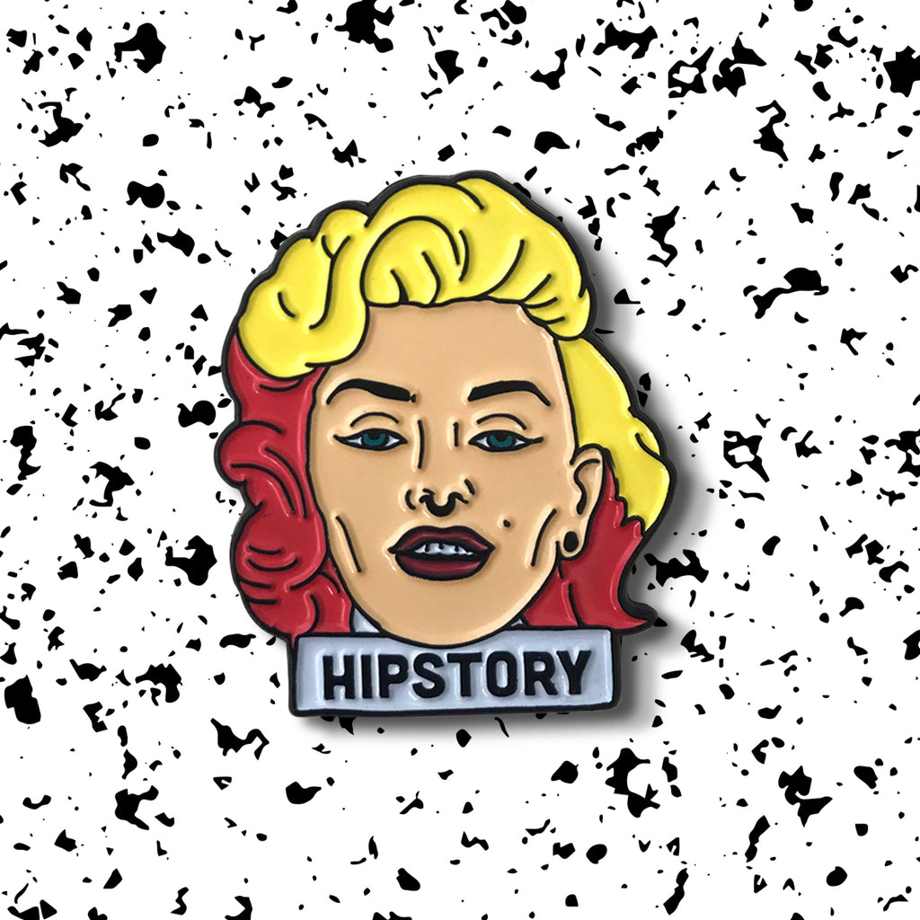 MARILYN MONROE Enamel Pin