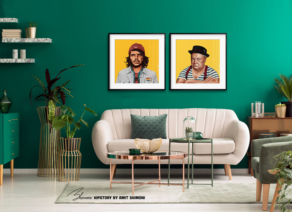 Che Guevara Wall Print Decor