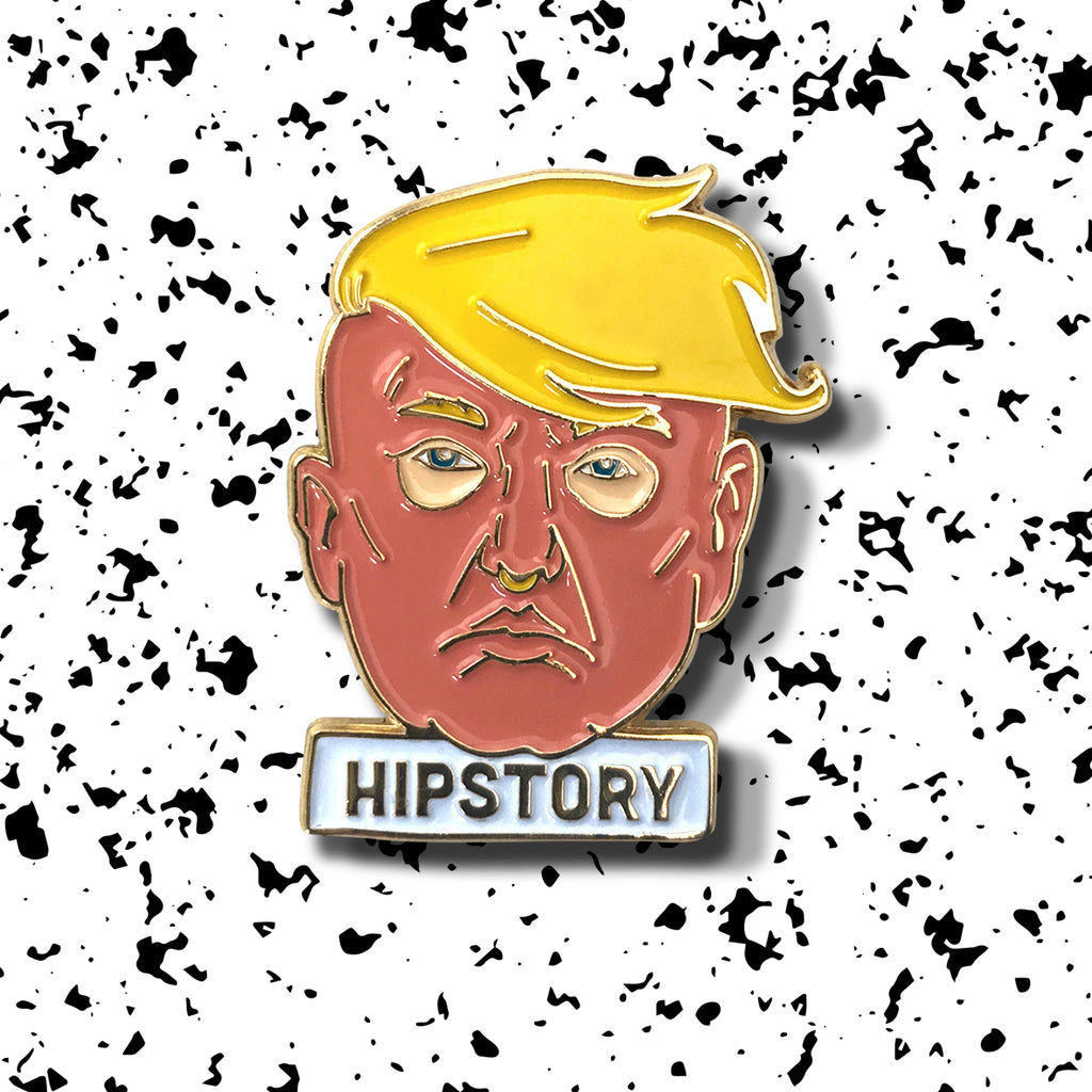GOLDEN TRUMP Enamel Pin