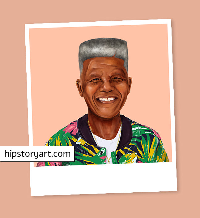 Nelson Mandela Mini Wall Art