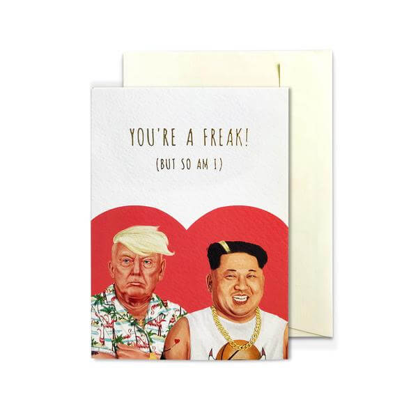 HIPSTORY BFF Greeting Card