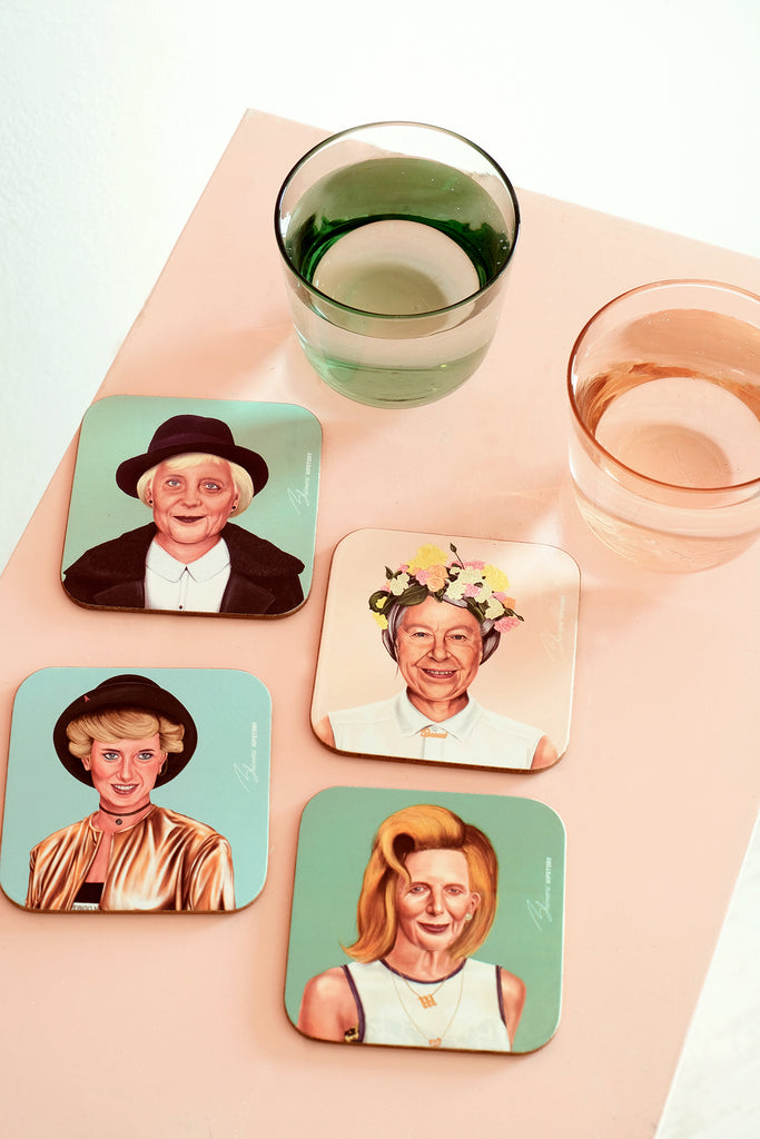 Queen Elizabeth II Coaster