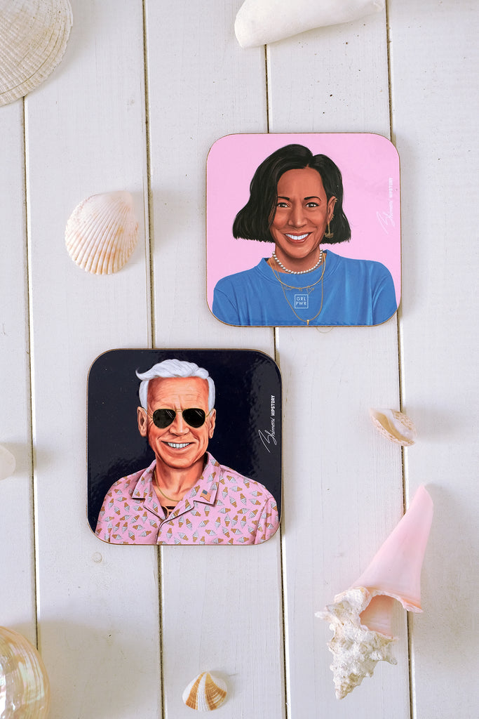 Joe Biden Coaster