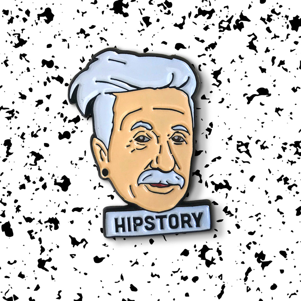ALBERT EINSTEIN Enamel Pin