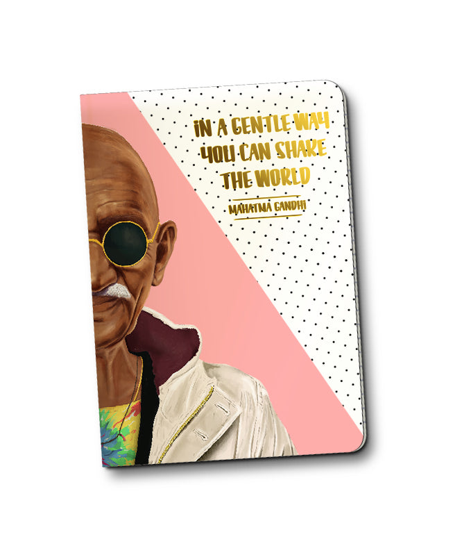 Mahatma Gandi Notebook
