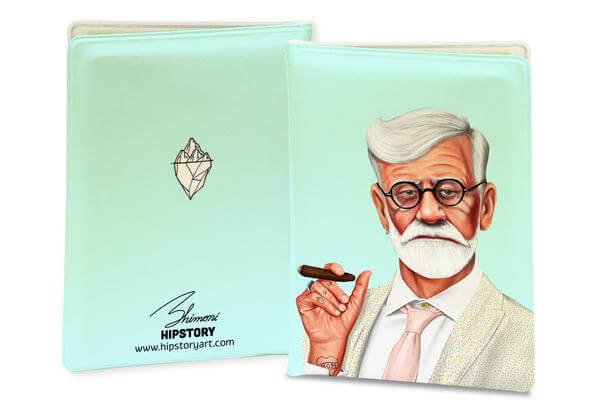 SIGMUND FREUD PASSPORT COVER