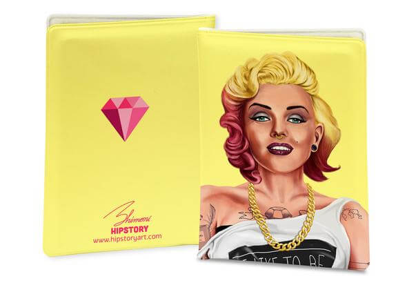 MARILYN MONROE PASSPORT COVER