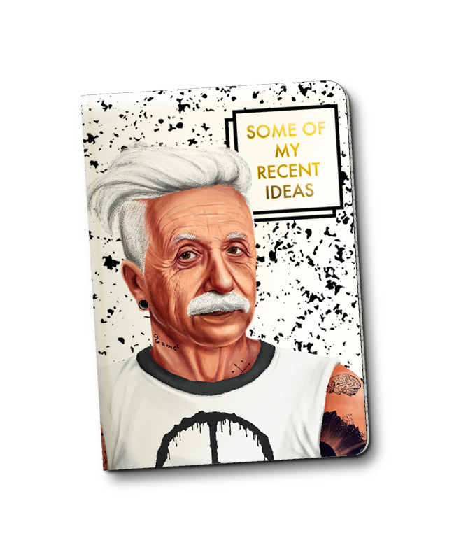 ALBERT EINSTEIN HIPSTORY NOTEBOOK