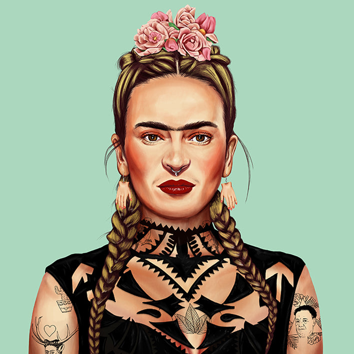 Frida Kahlo Wall Print Decor