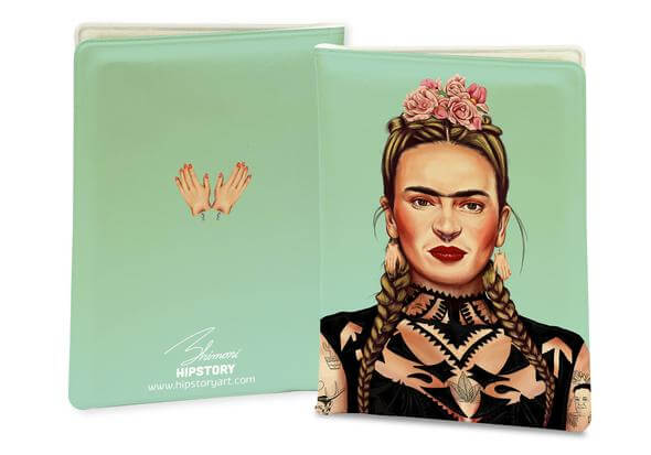 FRIDA KAHLO PASSPORT COVER/Card cover