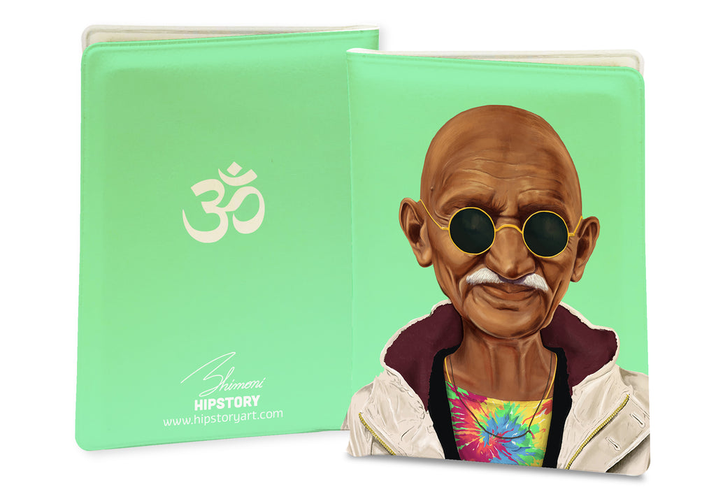 Mahatma Gandhi PASSPORT COVER / CARD COVER