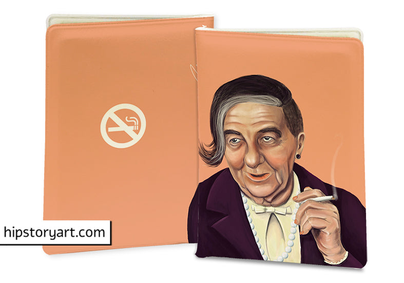 Golda Meir  PASSPORT COVER/ CARD COVER