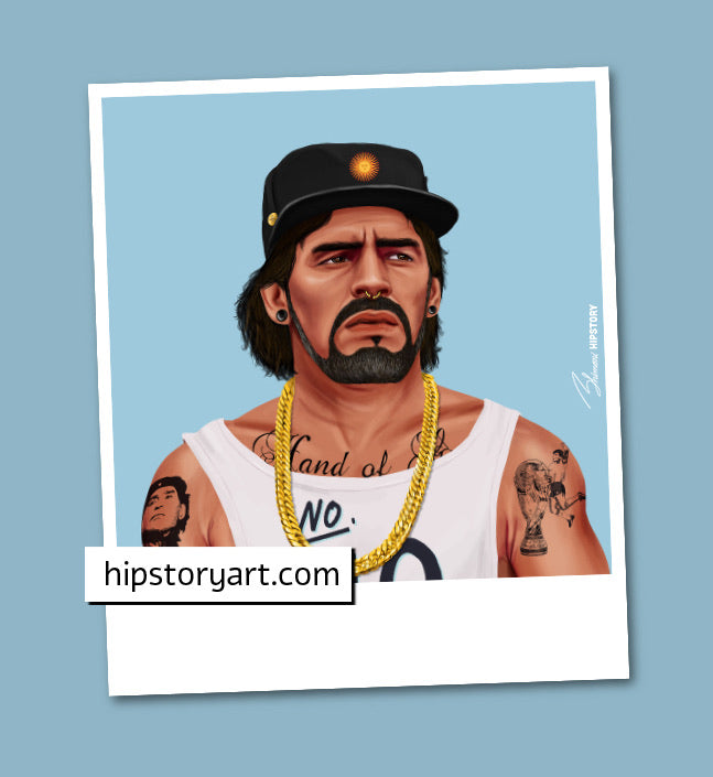 Diego Maradona Mini Wall Art