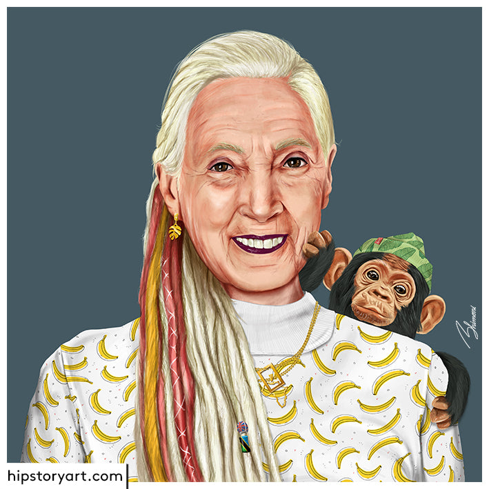 Jane Goodall Wall Art