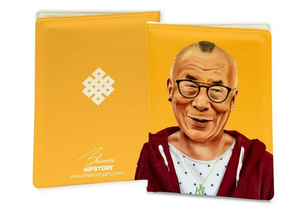 DALAI LAMA PASSPORT COVER