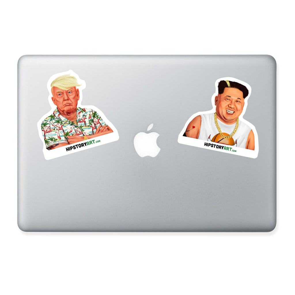 Donald Trump Vinyl laptop sticker