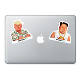 Vinyl laptop sticker Donald Trump