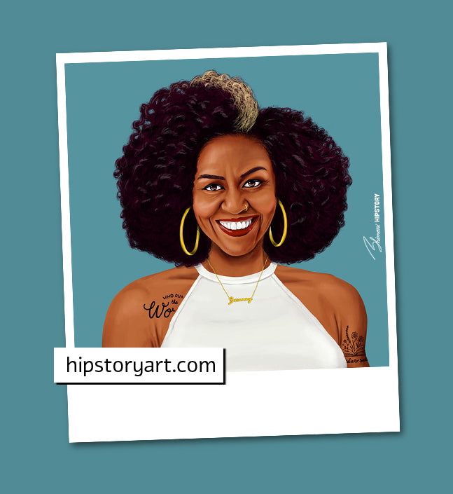 Michelle Obama Mini Wall Art