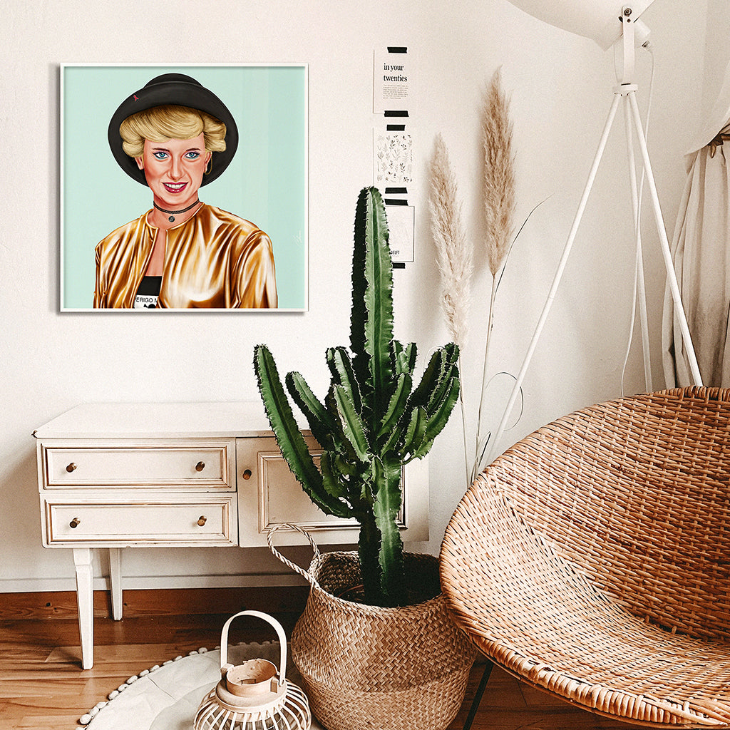 Princess Diana Wall Art