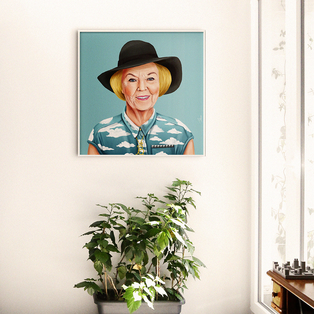 Queen Beatrix Wall Art