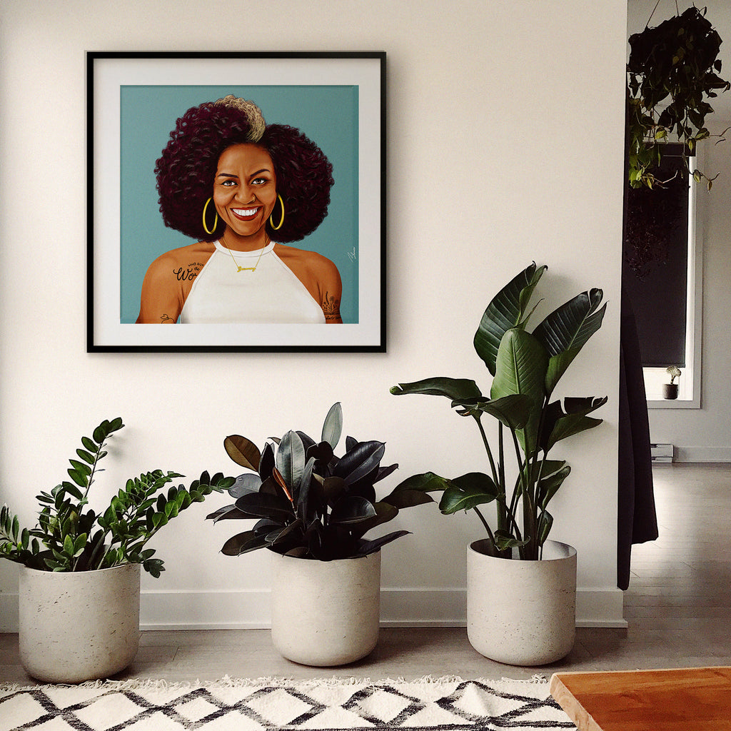 Michelle Obama Wall Art