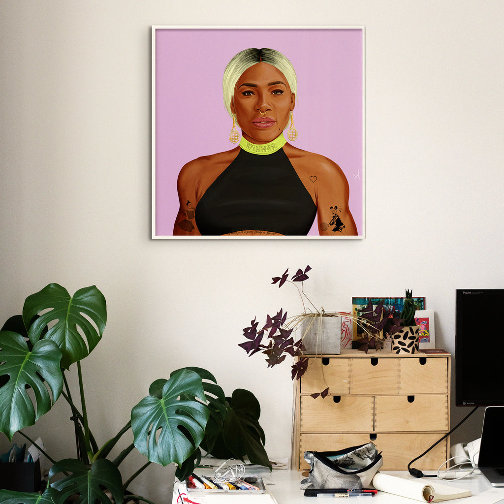 Serena Williams Wall Art