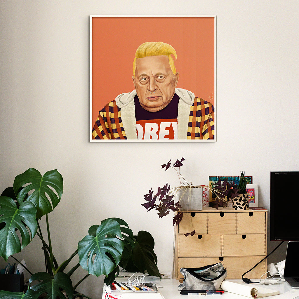 Ariel Sharon Wall Art