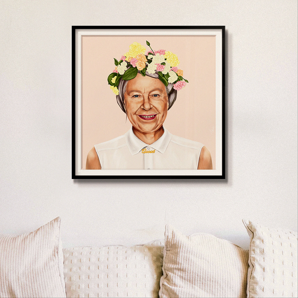 Queen Elizabeth II Wall Art