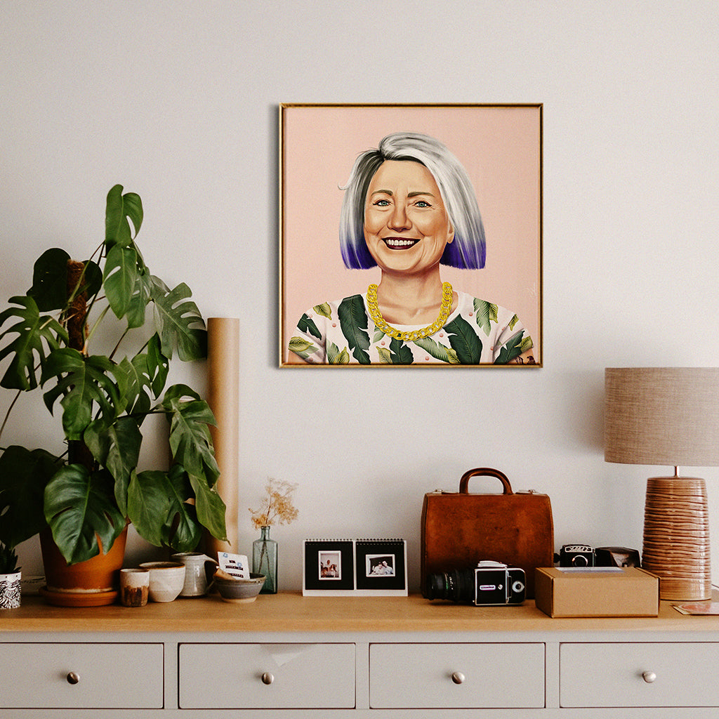 Hillary Clinton Wall Art
