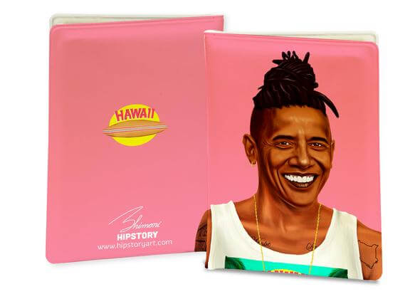 BARACK OBAMA PASSPORT COVER