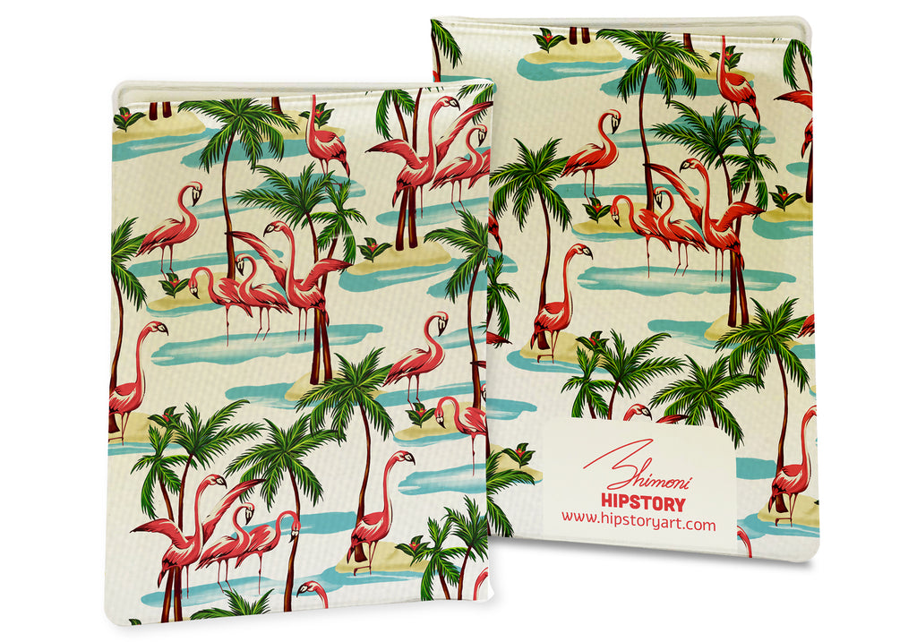 Flamingo PASSPORT COVER