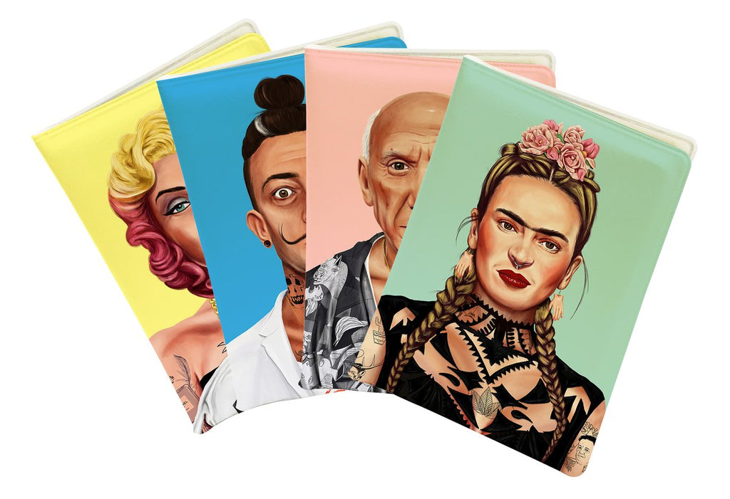 Choose Your Pack of hipstory Passport Covers