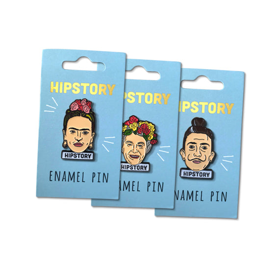 Choose Your Pack of hipstory Enamel Pins