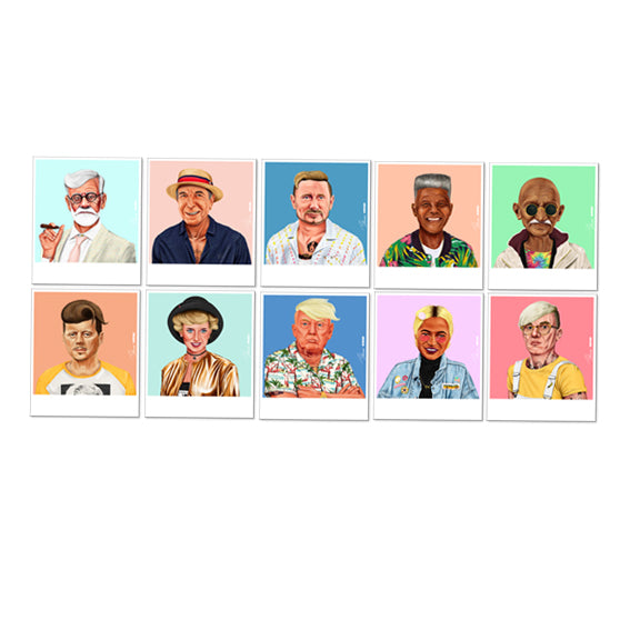 Choose Your 10 HIPSTORY Postcards