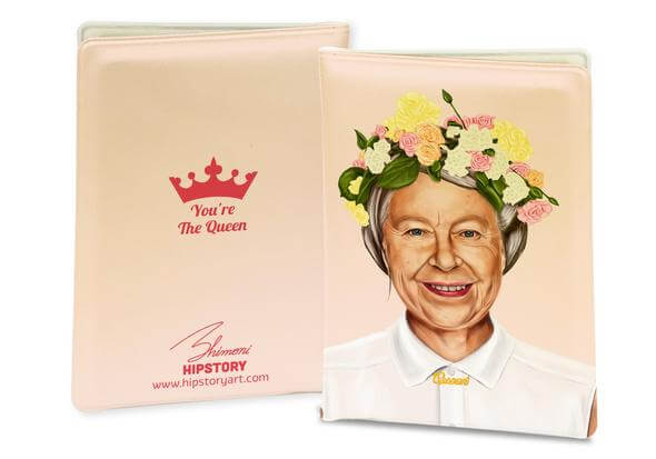Queen Elizabeth II Passport Cover