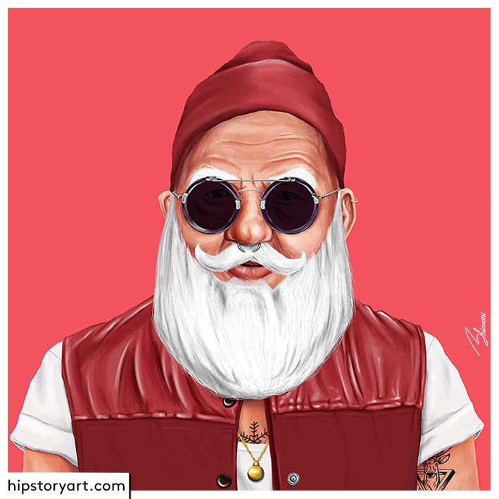 Santa Claus Wall Art
