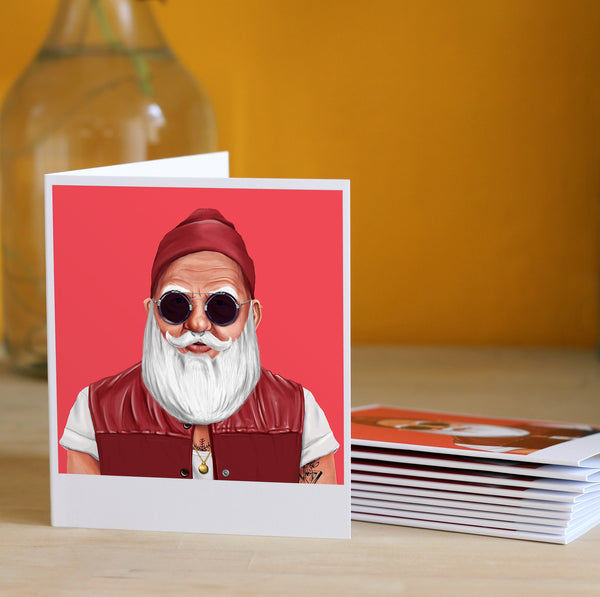 Santa Claus - Greeting Card (10 Pack)