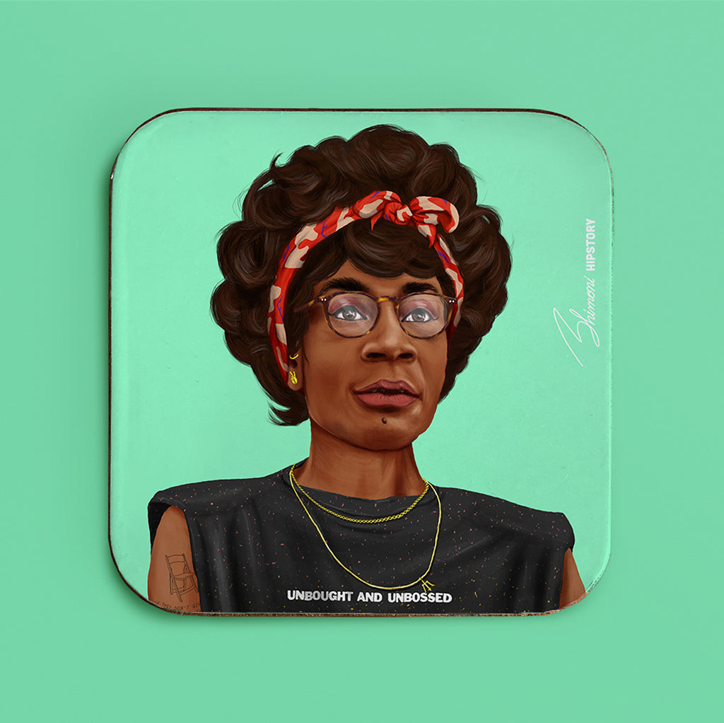 Shirley Chisholm Coaster