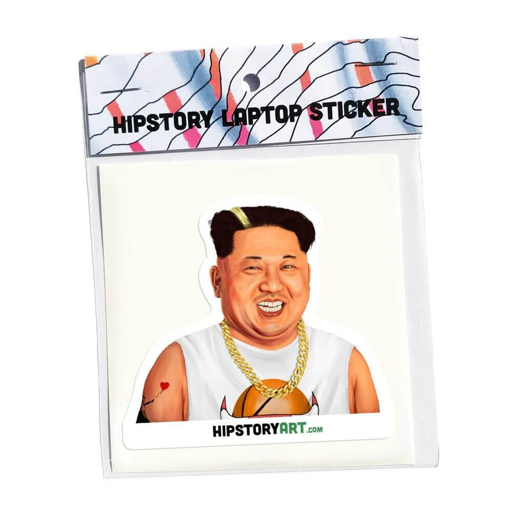 Kim Jong-un Laptop Sticker