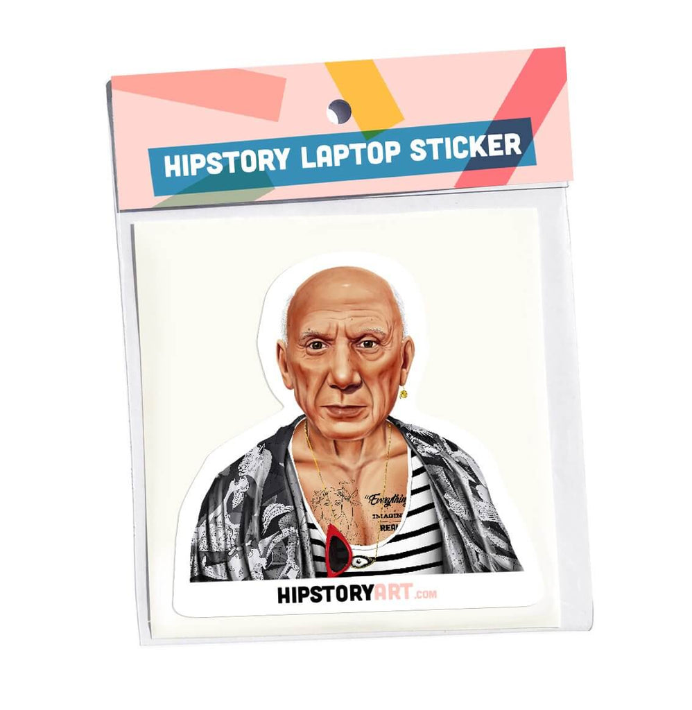 Pablo Picasso Vinyl laptop sticker