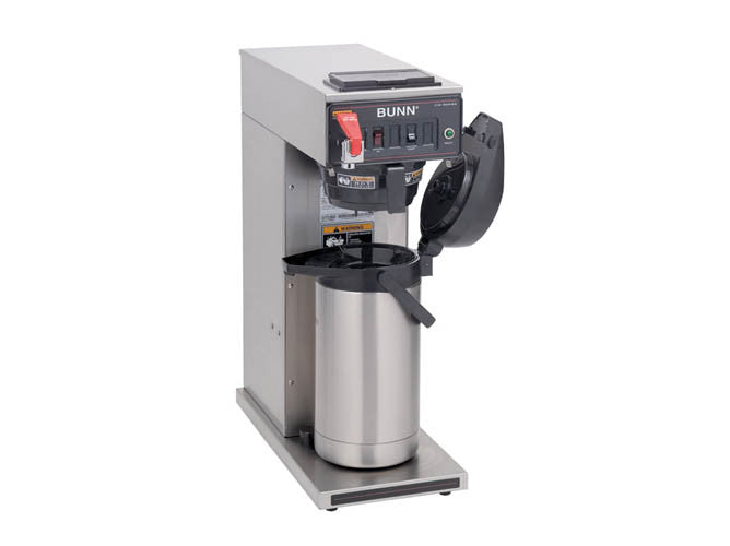 Commercial coffee maker water hook up