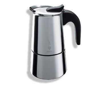Bialetti Musa Stainless Steel Espresso Maker Green Beanery